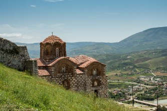 Byzantine church overlooking Berat