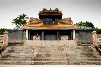 Tu Duc temple entrance