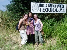 Entrance sign to the town of Tequila, Jalisco