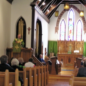 Archbishop Cutler at St. George's Church, October 21, 2018