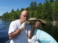 Fly-in Bass Fishing with Georgian Bay Airways