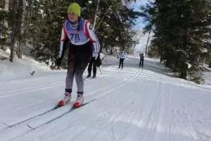 Georgian Nordic skier