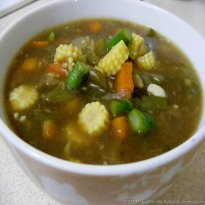 SWEET AND SOUR VEGETABLE SOUP