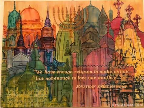 Original artwork by famous artist Jeroo Roy