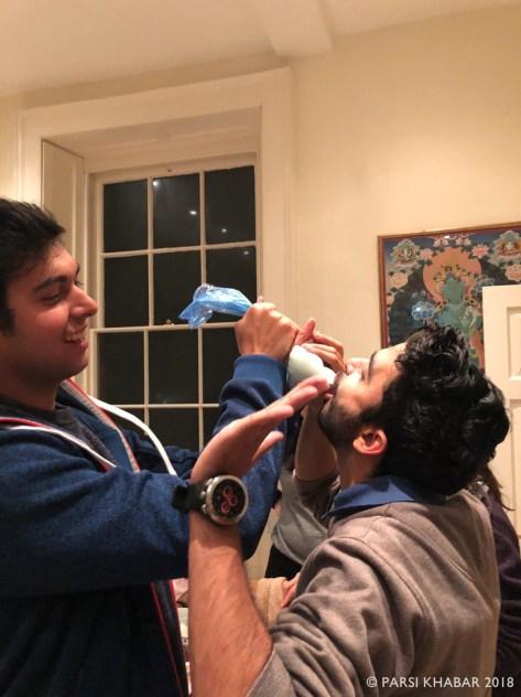 Icing the Dasturji !!
