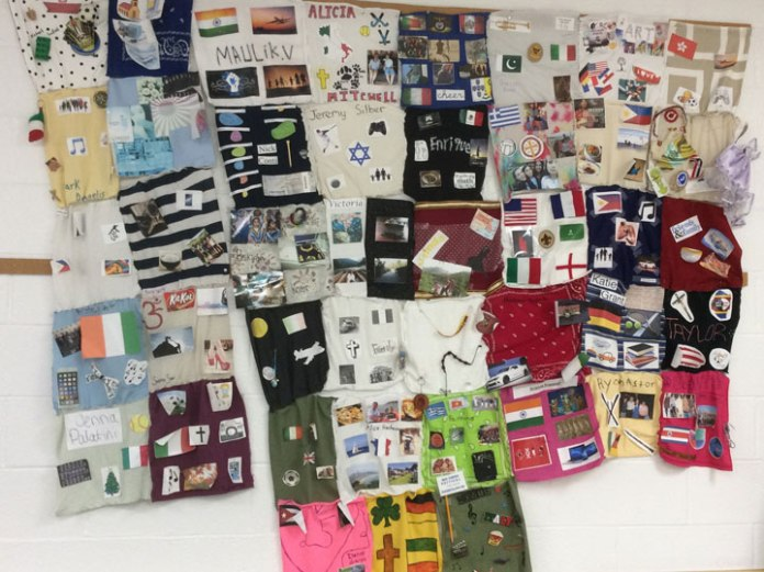 Students created patches to reflect their heritage | Parsippany Focus