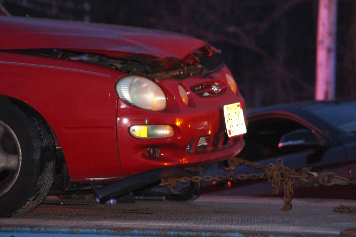 Driver charged with careless driving in two car accident on Smith Road