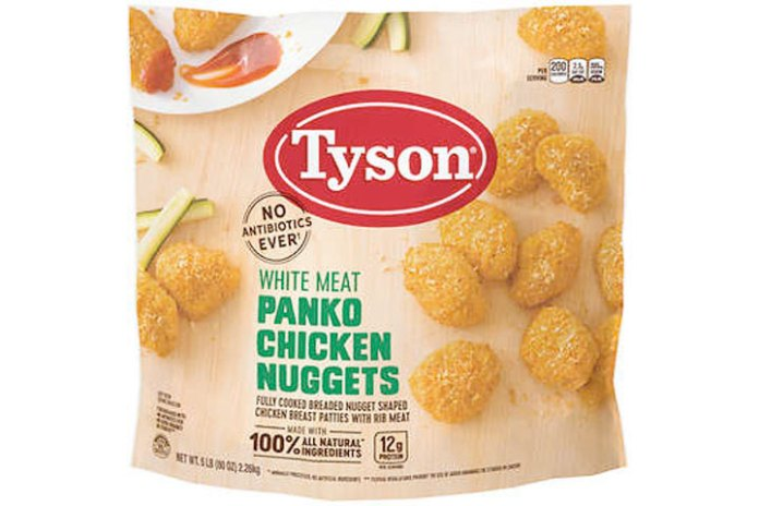Tyson Foods Recalls Chicken Nuggets Due To Possible Foreign Matter