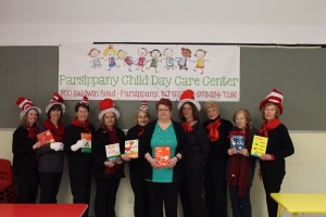 Celebrating Dr. Seuss' birthday at Parsippany Child Day Care Center 3/4/15
