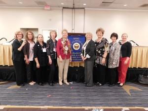 Club Members with NJSFWC and GFWC Presidents