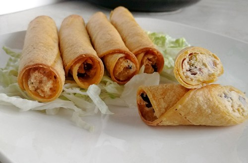 Chicken & Black Bean Taquitos