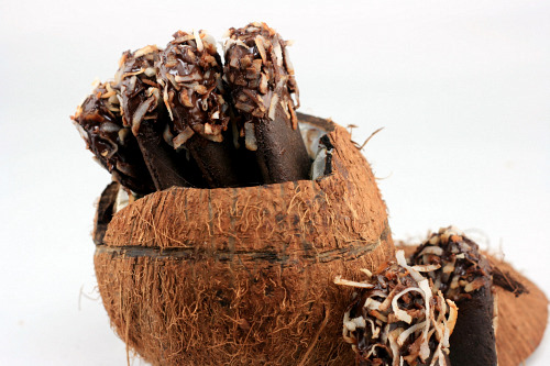 Dark Chocolate - Coconut Milano Cookies