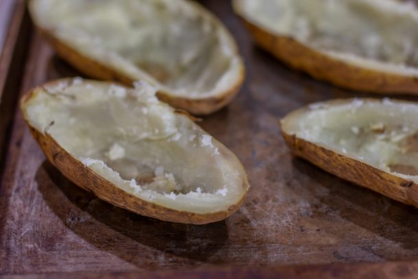 potato shells for twice baked potatoes