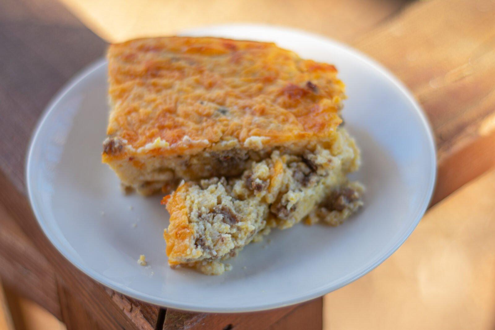 sausage grits breakfast casserole