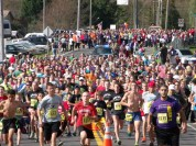 100 runners and walkers participated in the 2013 Run For It