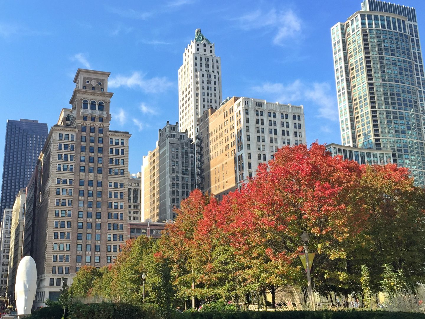 How to travel more with a full-time job Chicago in the fall