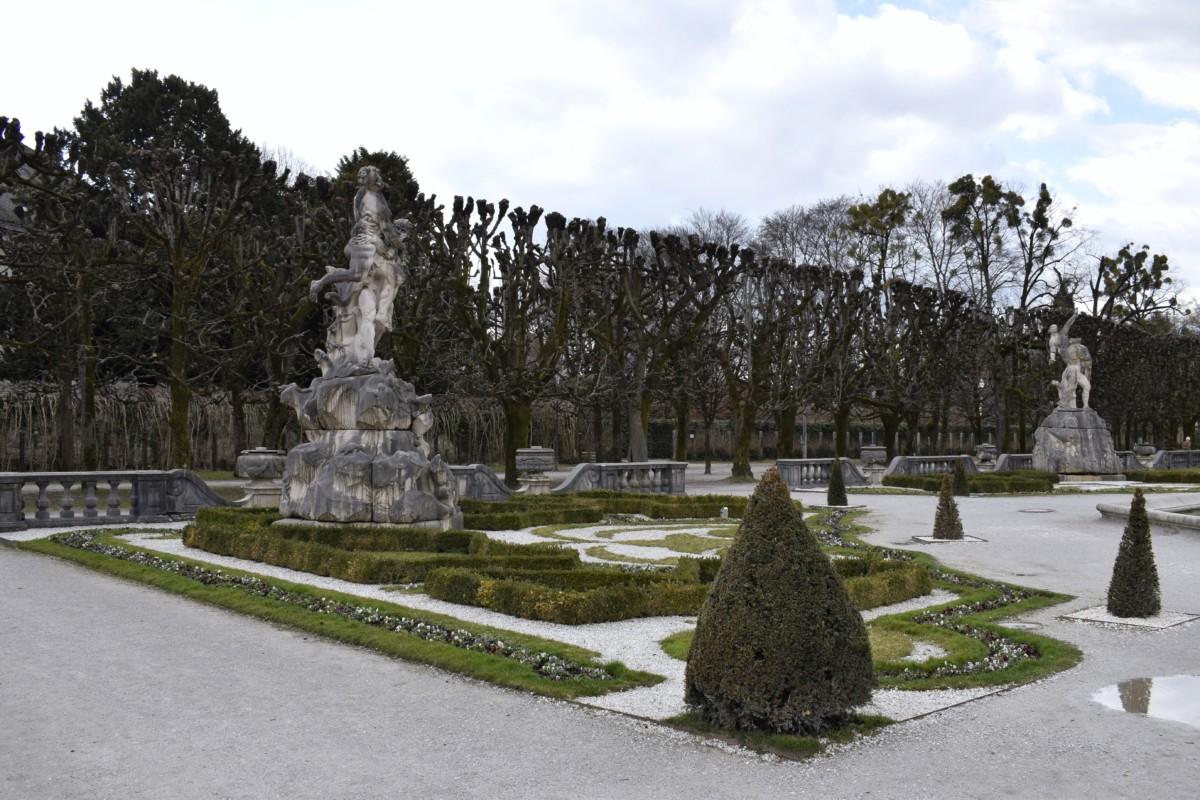 Mirabell Palace and Gardens weekend break in Salzburg Austria