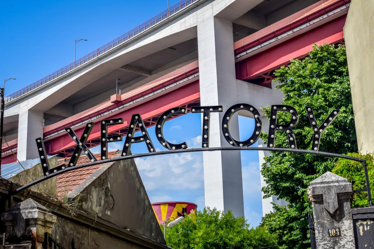 Lisbon street art LX Factory