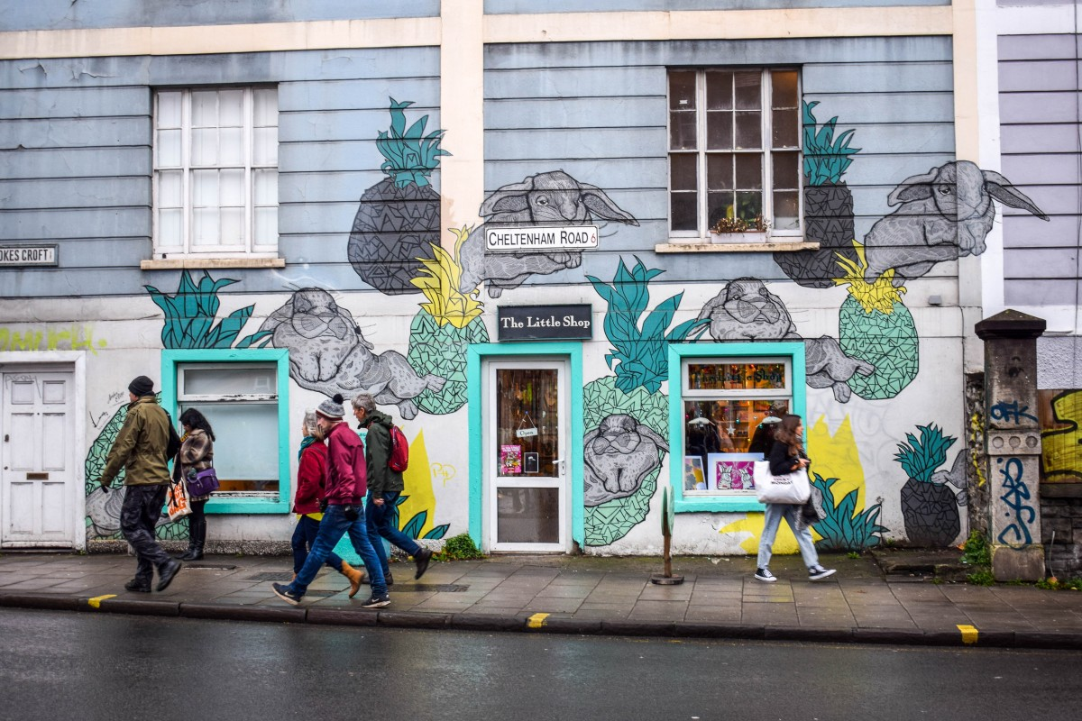Story-telling and street art in Stokes Croft & Montpelier