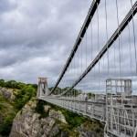 Clifton Suspension Bridge Bristol in Winter