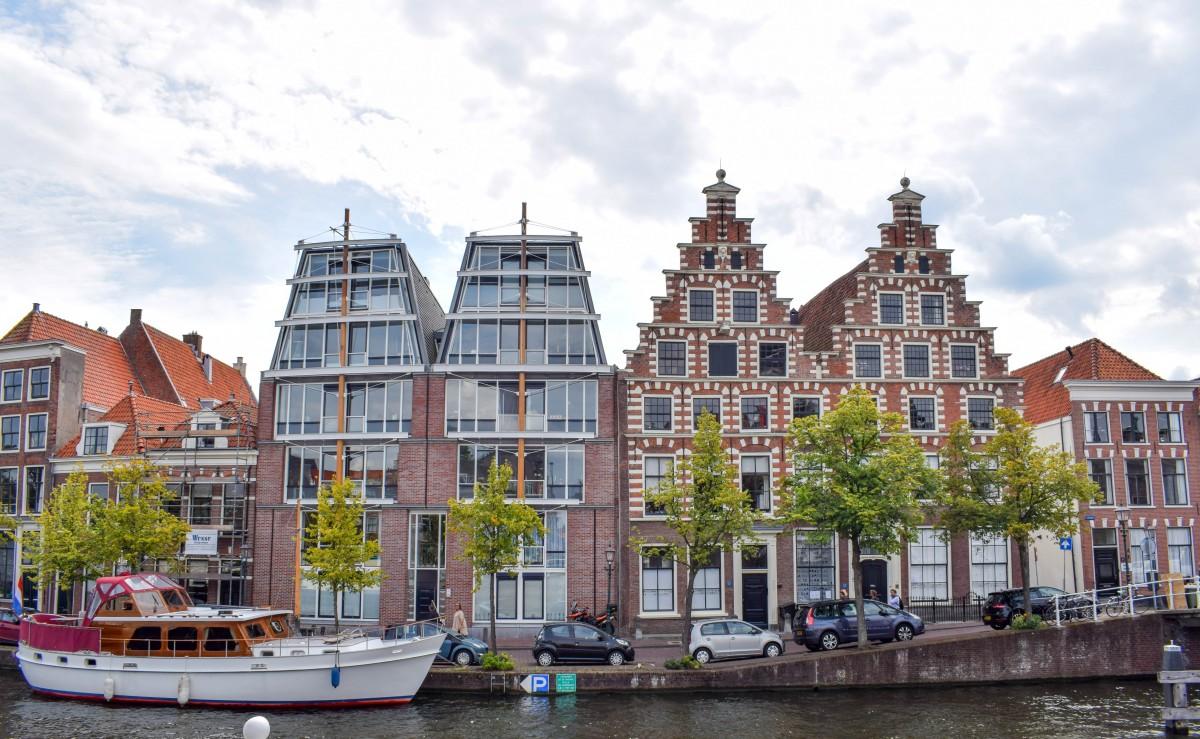 Haarlem canal views