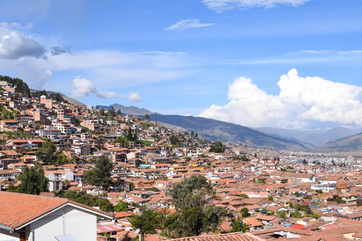 Cusco Peru San Cristobel Church views