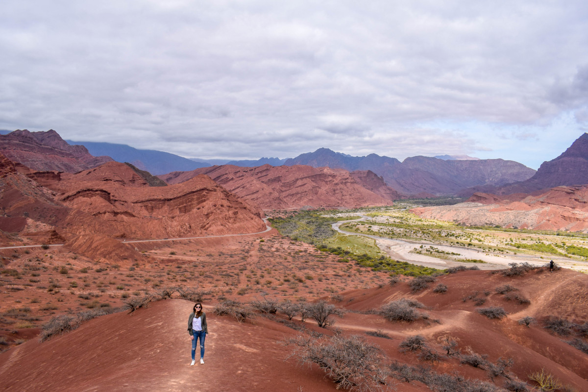 Las Tres Cruces viewpoint Salta Argentina