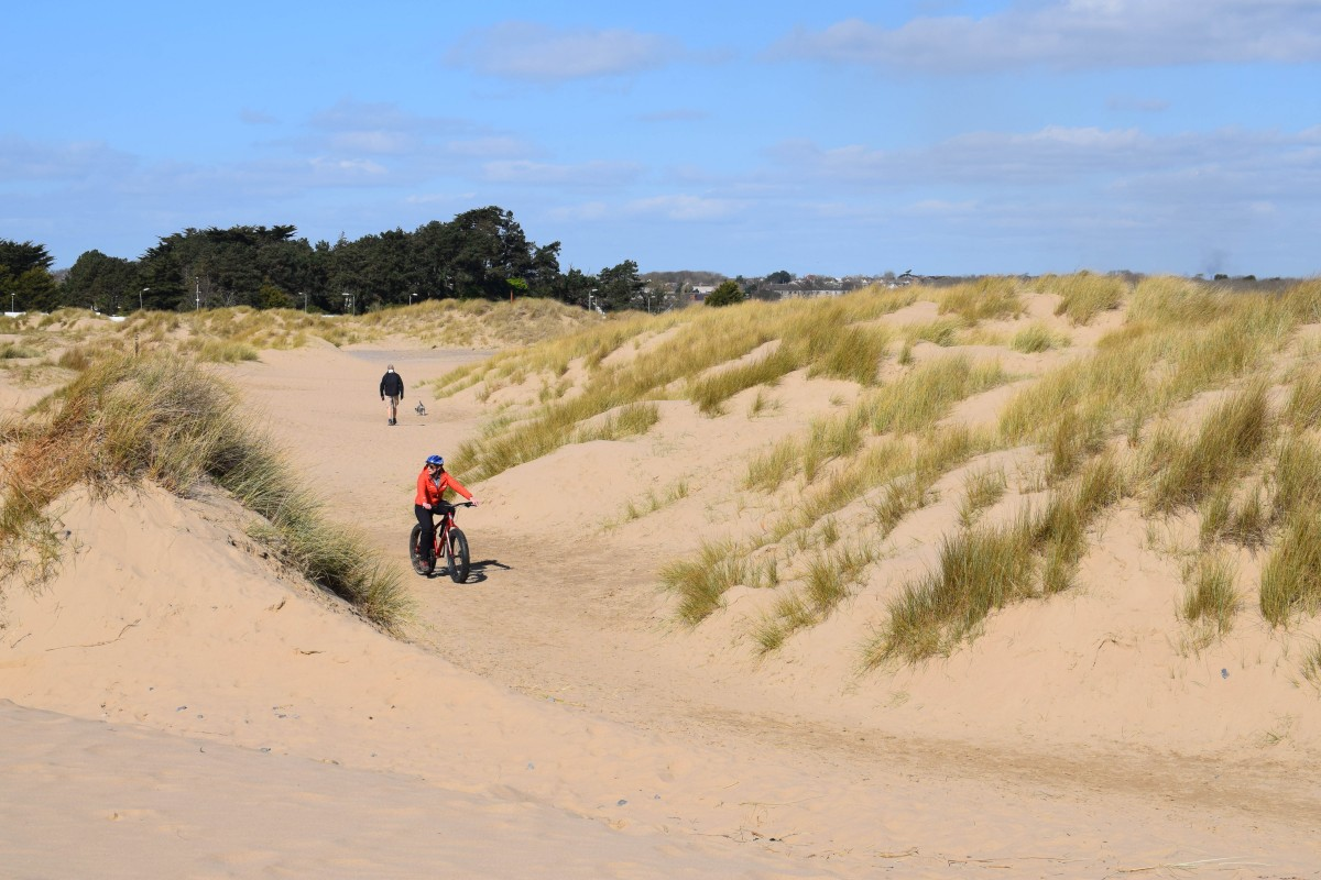 Fat-biking in Porthcawl: The perfect day out in Wales