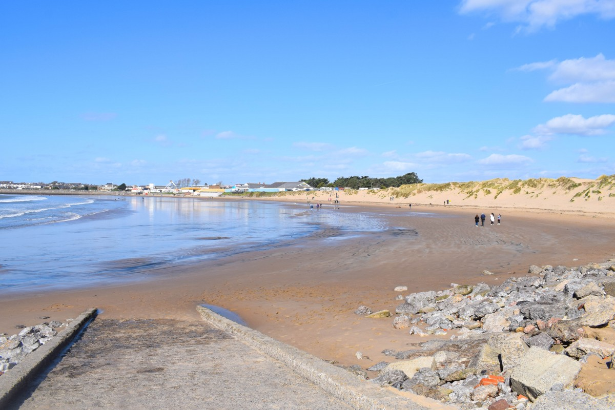 view of sandy bay
