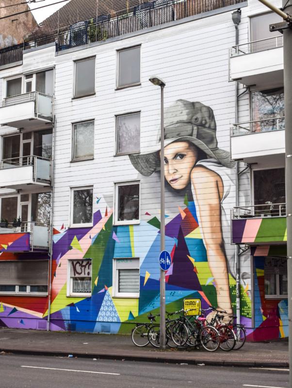 Ehrenfeld street art in Cologne