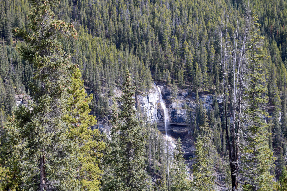 Bridal Veil Falls Icefields Parkway Canada-2