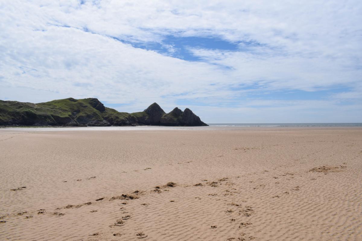 Three Cliffs Bay Gower Peninsula Wales - UK short breaks