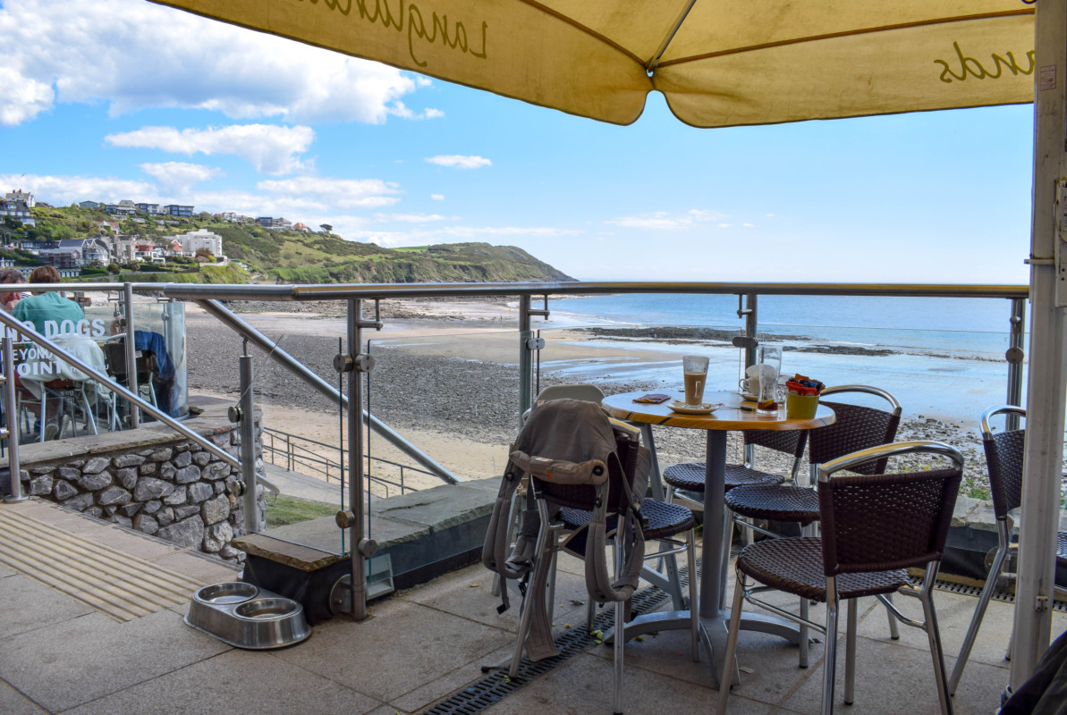 Gower hikes Wales Langlands Brasserie