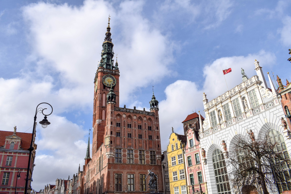 Gdansk Old Town Poland