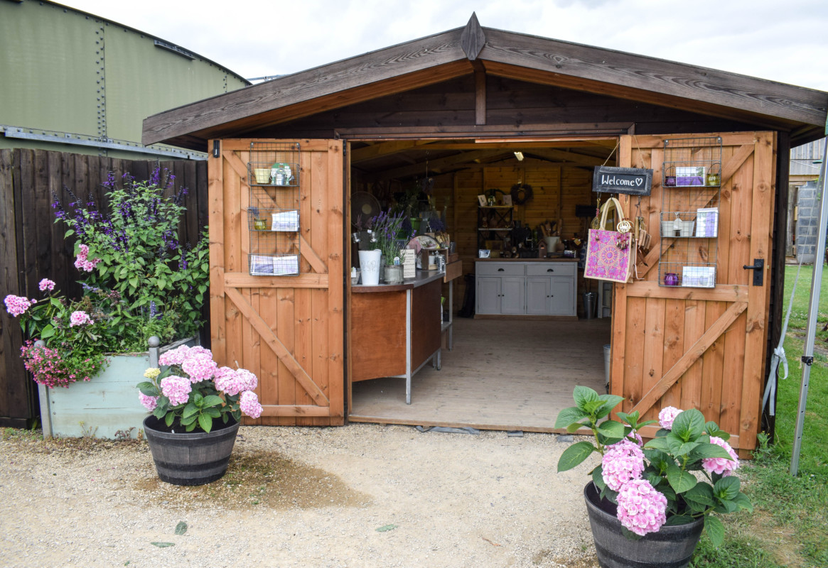 Somerset Lavender Farm shop