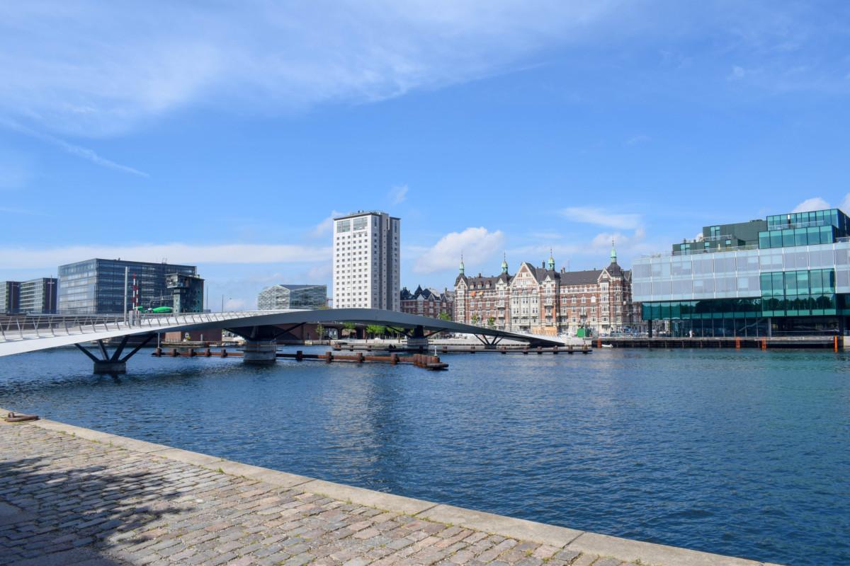 Canal walk Copenhagen Denmark