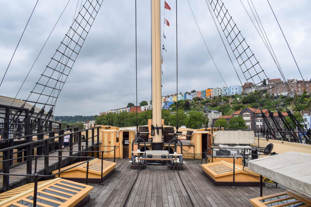 SS Great Britain Bristol deck