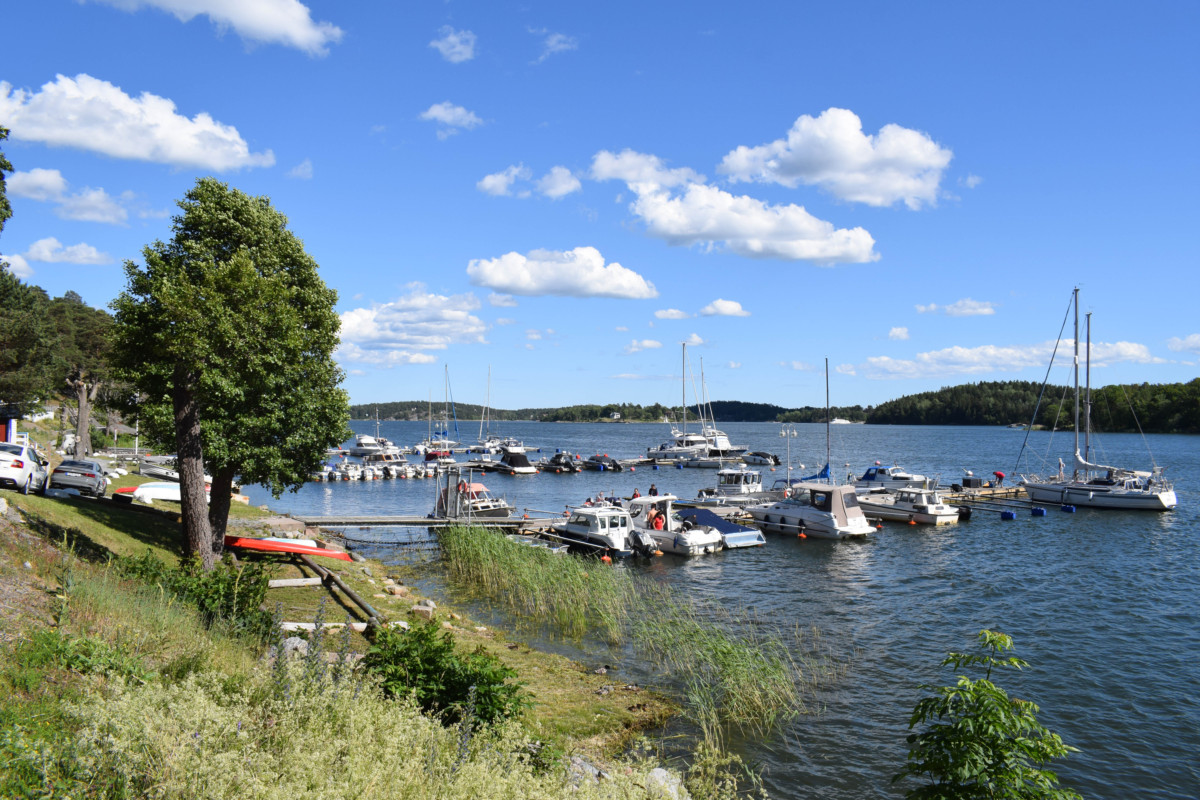 Vaxholm Sweden day trip from Stockholm