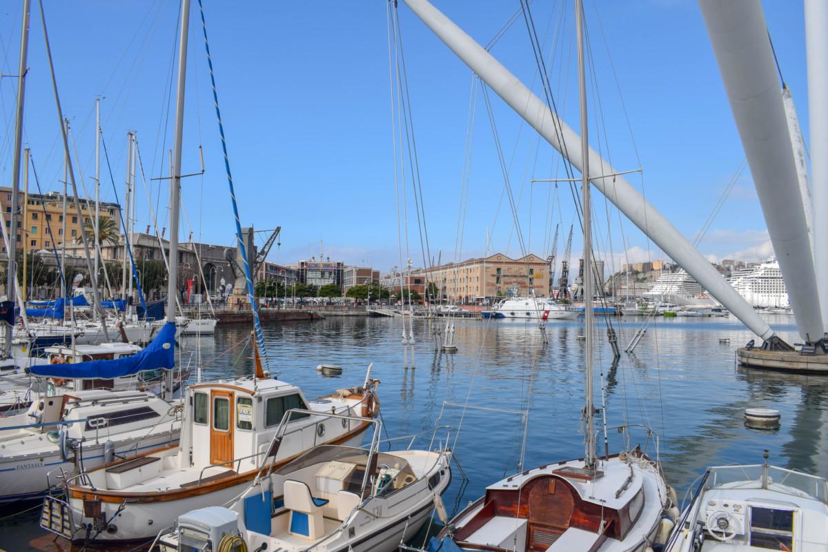 Genoa Marina Italy