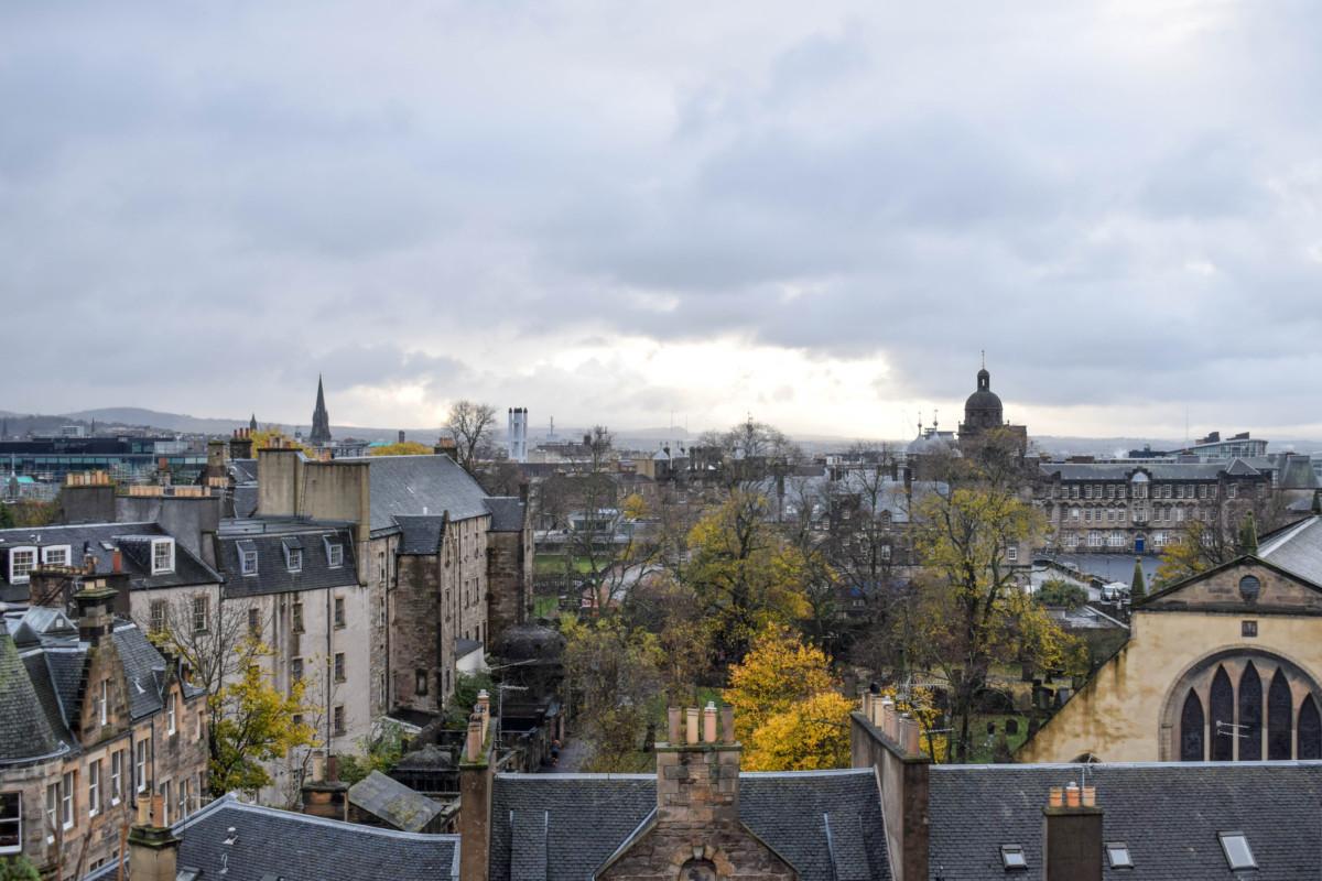 National Museum of Scotland views Edinburgh