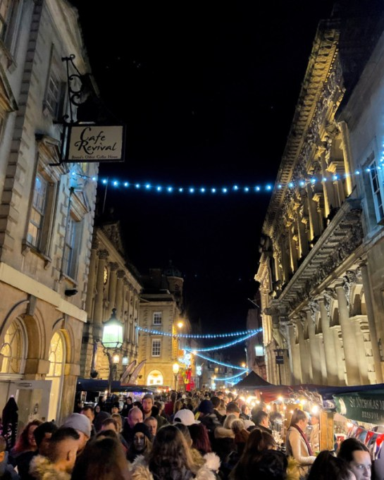 St Nick's Night Market Bristol Christmas