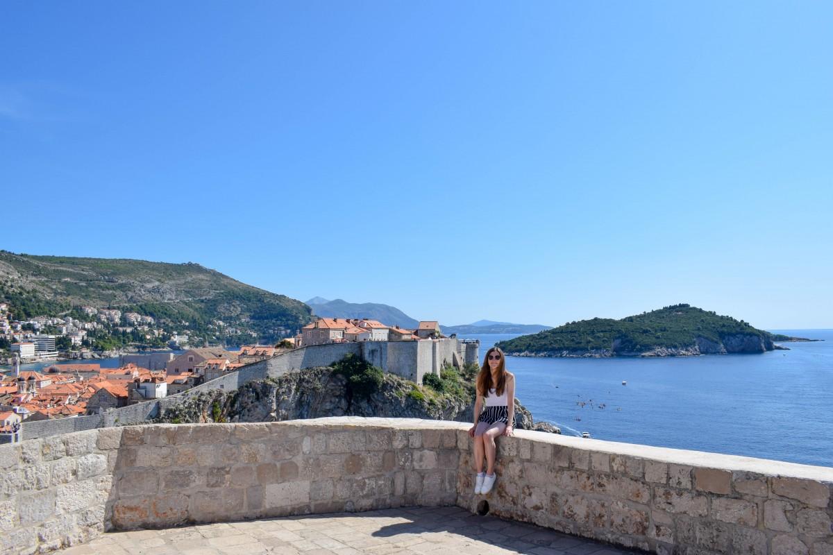 Short break in Dubrovnik Croatia Views from Fort Lovrijenac