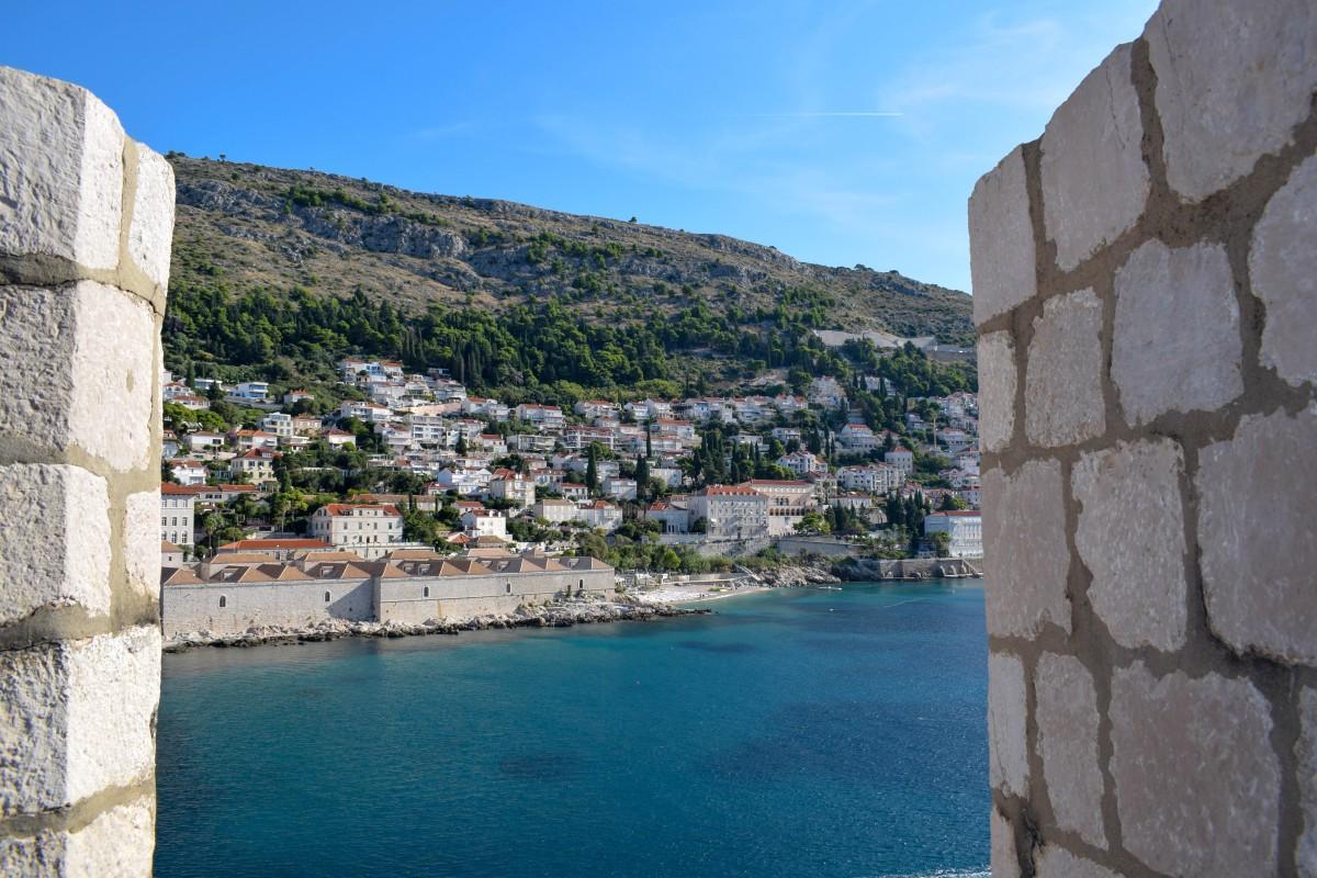 City walls old town Dubrovnik Croatia-24 hours in dubrovnik