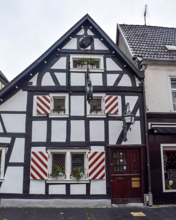 Timber framed house in Konigswinter Germany - day trip from Cologne