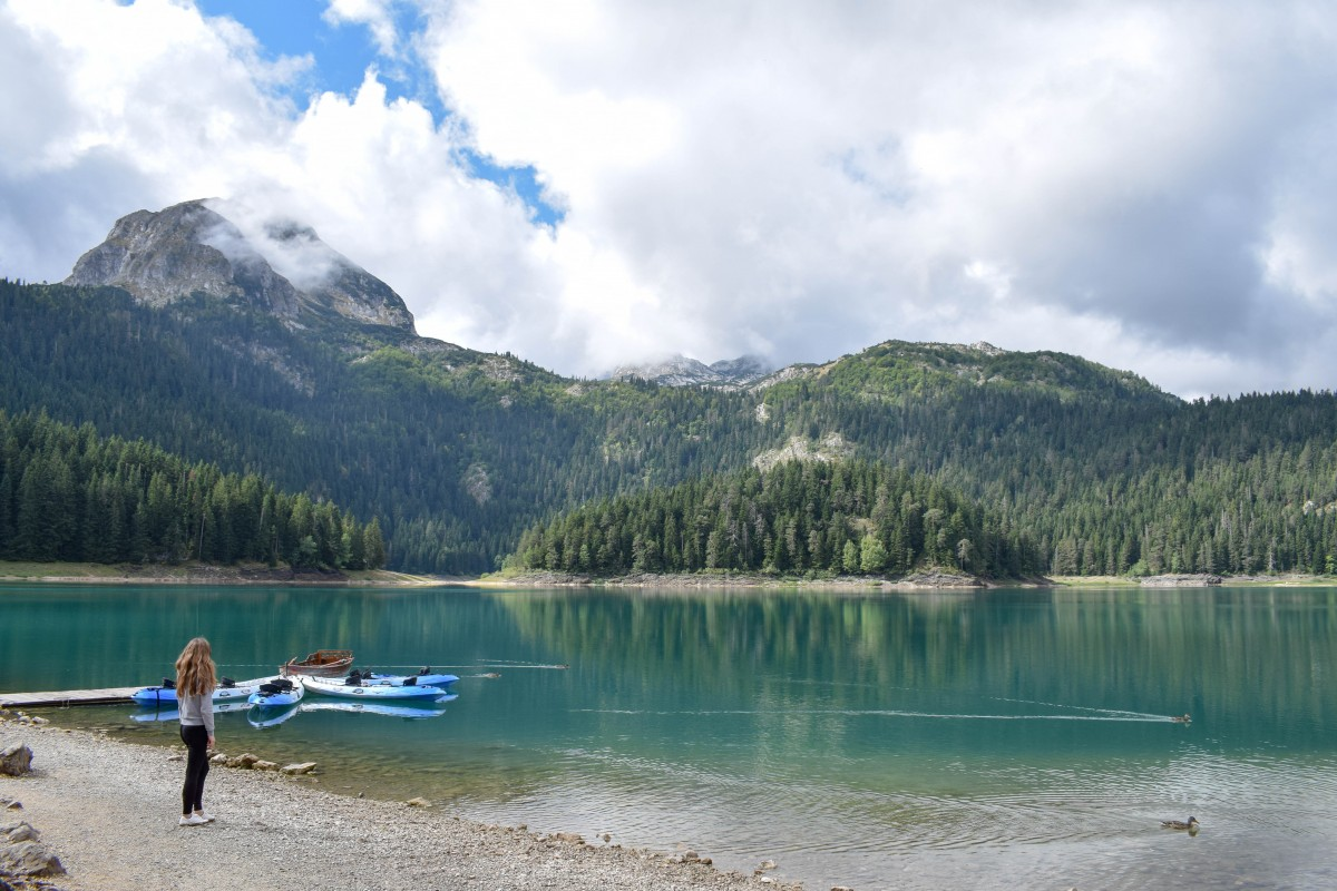 Black Lake Crno Jezero Durmitor National Park Montenegro