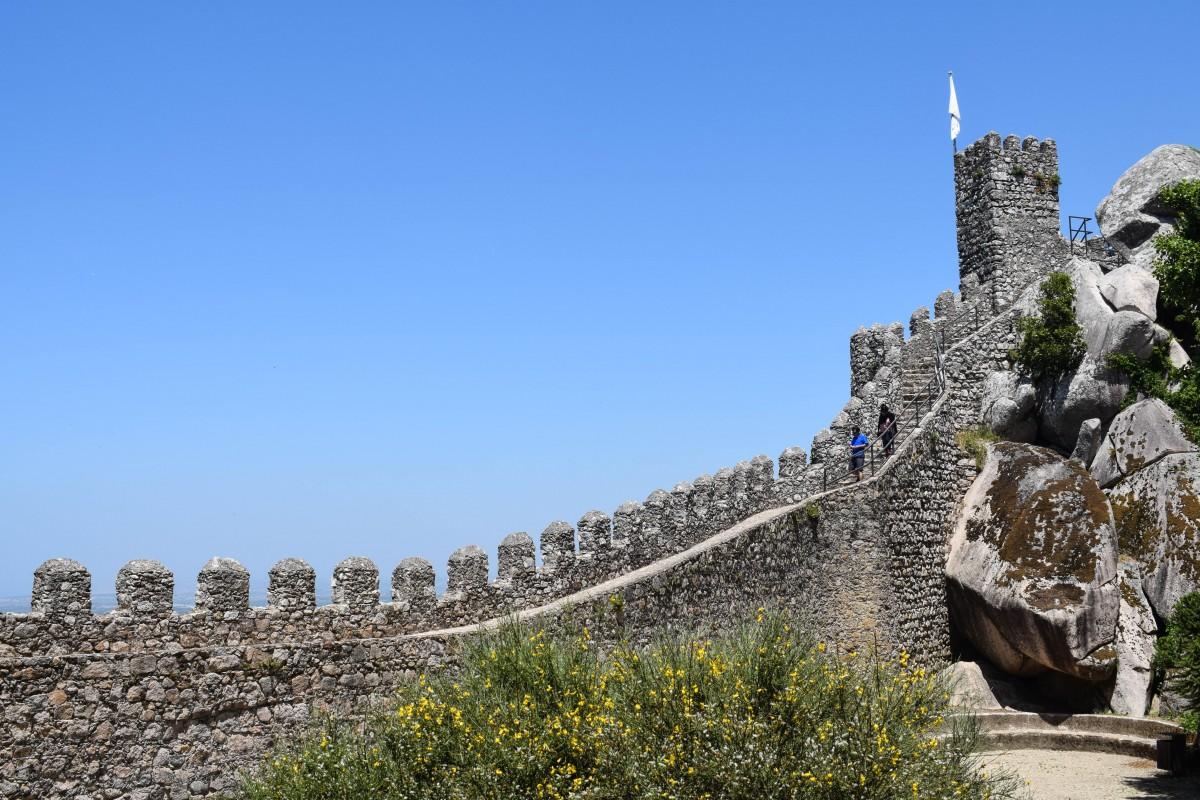 Moorish castle Sintra day trips from Lisbon Portgual