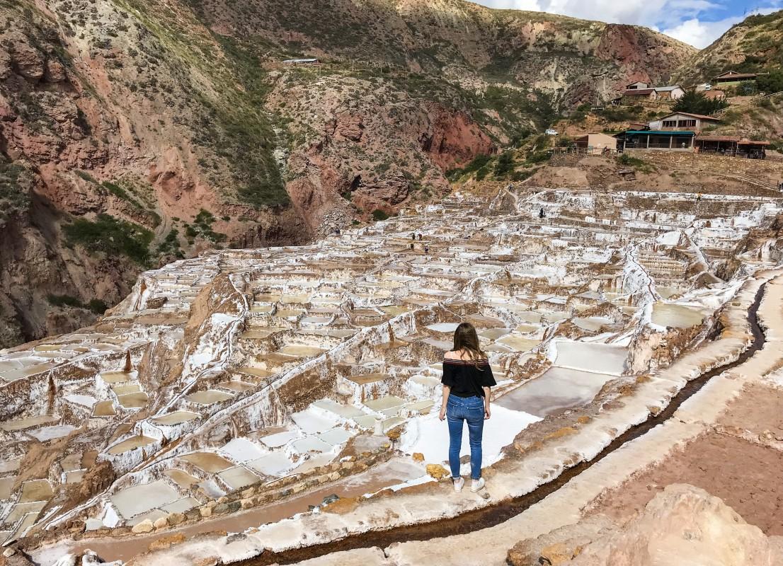 Salineras de Maras Sacred Valley peru salt ponds