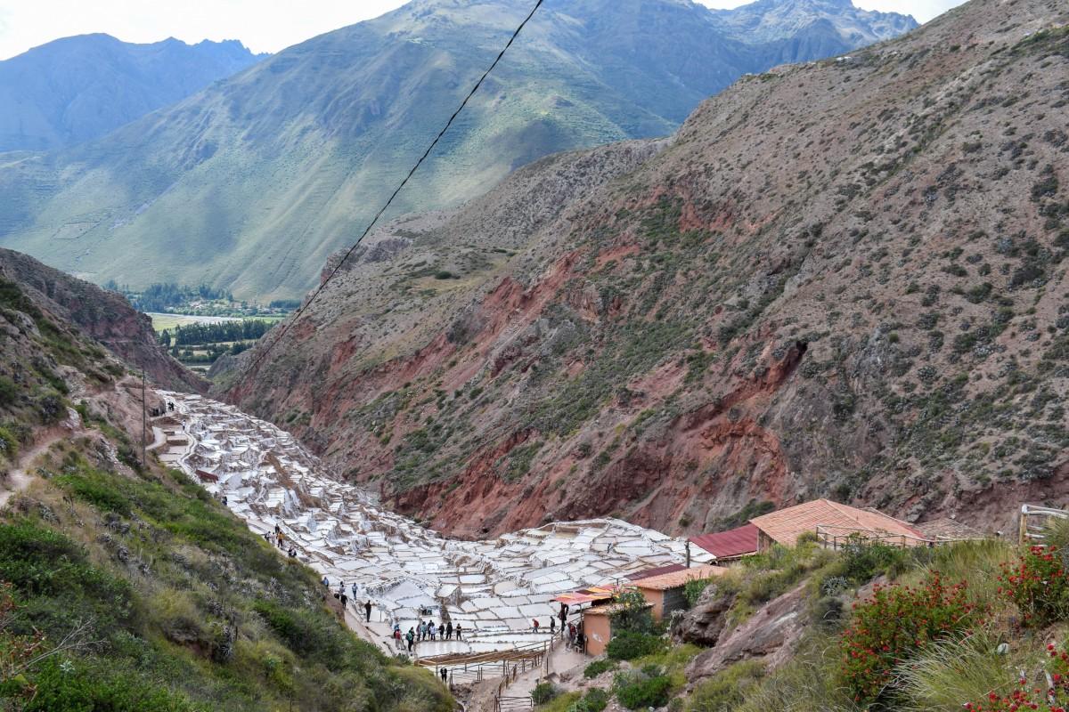 Salineras de Maras salt ponts Sacred Valley Peru