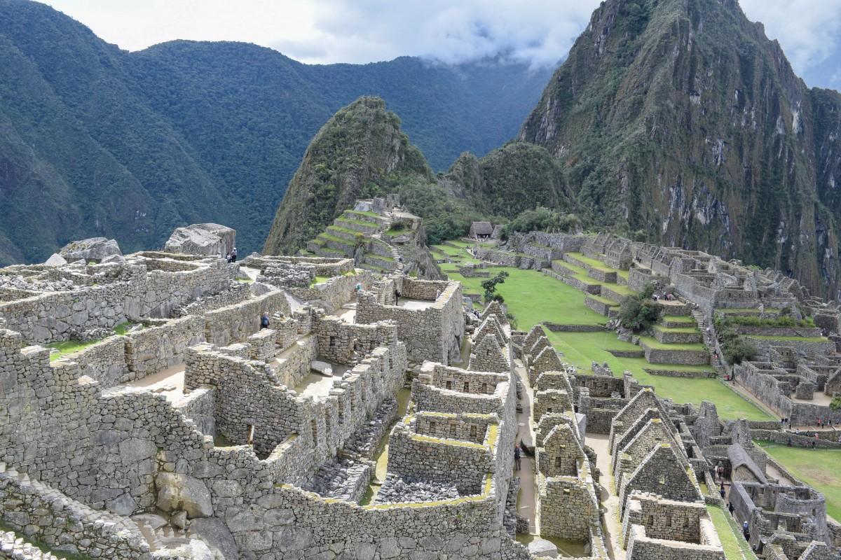 Machu Picchu citadel Peru