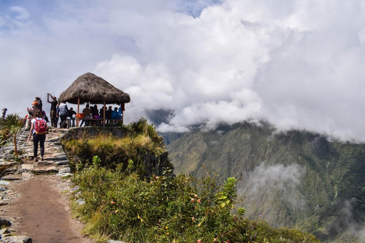 Machu Picchu Mountain trek Peru hike